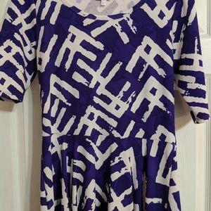 LuLaRoe Dresses - Lularoe Nicole worn 1X